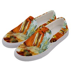 Dscf1503   With Themis On A Shade Men s Canvas Slip Ons by bestdesignintheworld