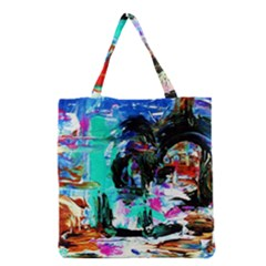 Dscf3313   Jerusalem   Gates Of Haven Grocery Tote Bag by bestdesignintheworld