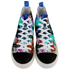 Dscf3313   Jerusalem   Gates Of Haven Men s Mid Top Canvas Sneakers