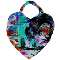 Dscf3313   Jerusalem   Gates Of Haven Giant Heart Shaped Tote by bestdesignintheworld