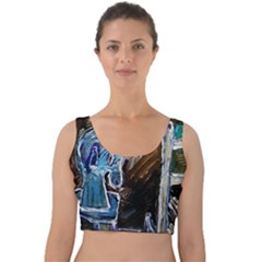 Dscf2546   Toy Horsey Velvet Crop Top by bestdesignintheworld