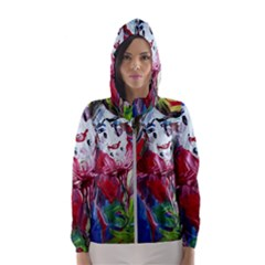 Dscf1741 - Funny Clown Hooded Wind Breaker (women) by bestdesignintheworld