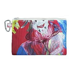 Dscf1741   Funny Clown Canvas Cosmetic Bag (large) by bestdesignintheworld