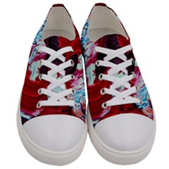 Dscf2258   Point Of View 1 Women s Low Top Canvas Sneakers