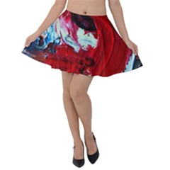 Dscf2258   Point Of View 1 Velvet Skater Skirt
