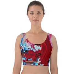 Dscf2258   Point Of View 1 Velvet Crop Top by bestdesignintheworld