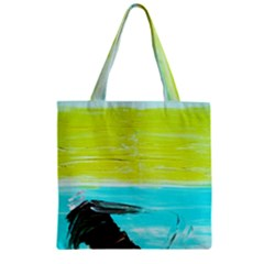 Dscf3214   Skier Zipper Grocery Tote Bag