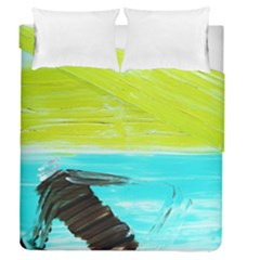 Dscf3214   Skier Duvet Cover Double Side (queen Size)