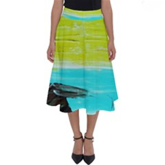 Dscf3214   Skier Perfect Length Midi Skirt