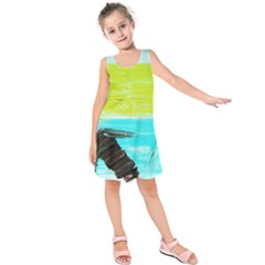 Dscf3214   Skier Kids  Sleeveless Dress