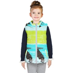 Dscf3214   Skier Kid s Hooded Puffer Vest