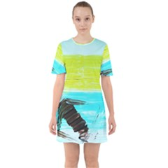 Dscf3214   Skier Sixties Short Sleeve Mini Dress