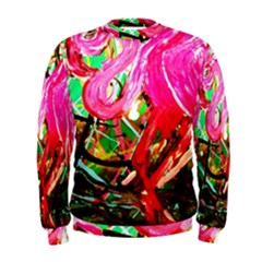 Dscf2035   Flamingo On A Chad Lake Men s Sweatshirt