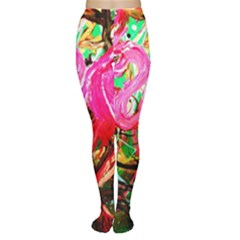 Dscf2035   Flamingo On A Chad Lake Women s Tights