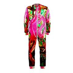 Dscf2035   Flamingo On A Chad Lake Onepiece Jumpsuit (kids)