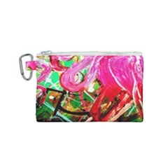 Dscf2035   Flamingo On A Chad Lake Canvas Cosmetic Bag (small)