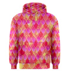 Squama Fhis Paint Flower Of Life Pattern Men s Pullover Hoodie by Cveti