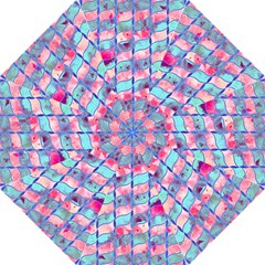 Leaves Paint Flower Of Life 01 Straight Umbrellas by Cveti