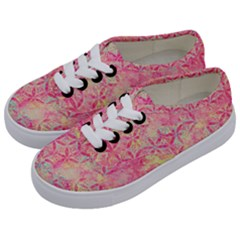 Flower Of Life Paint Pattern 08jpg Kids  Classic Low Top Sneakers by Cveti