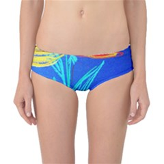 Dscf1451 - Birds If Paradise In A Cristal Vase Classic Bikini Bottoms by bestdesignintheworld