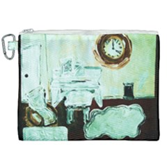 Dscf1961   White Room Canvas Cosmetic Bag (xxl)