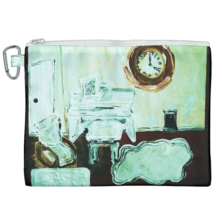 Dscf1961 - white room Canvas Cosmetic Bag (XXL)