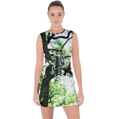 Lake Park 6 Lace Up Front Bodycon Dress