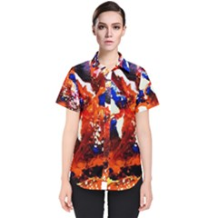 Smashed Butterfly 1 Women s Short Sleeve Shirt