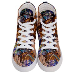 Light Of Candles Chandellier 1 Women s Hi Top Skate Sneakers