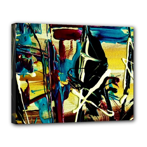 Dance Of Oil Towers 2 Canvas 14  X 11  by bestdesignintheworld