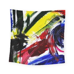 Lets Forget The Black Squere 2 Square Tapestry (small) by bestdesignintheworld