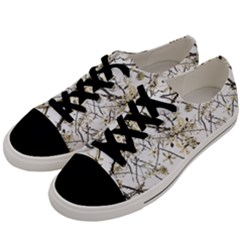 Nature Graphic Motif Pattern Men s Low Top Canvas Sneakers by dflcprints