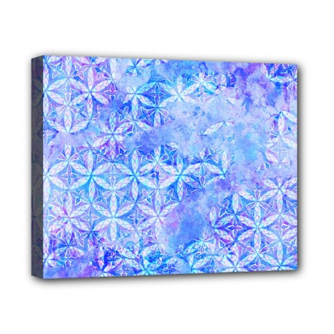 Flower Of Life Paint Pattern 8jpg Canvas 10  X 8  by Cveti
