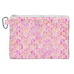 Flower Of Life Paint Pattern 9 Canvas Cosmetic Bag (xl) by Cveti