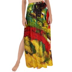 Yellow Chick 7 Maxi Chiffon Tie Up Sarong