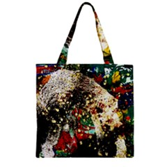 Wet Kiss 2 Zipper Grocery Tote Bag by bestdesignintheworld
