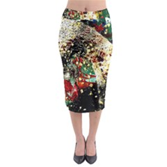 Wet Kiss 2 Midi Pencil Skirt by bestdesignintheworld