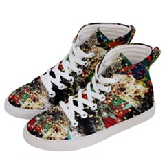Wet Kiss 2 Women s Hi Top Skate Sneakers by bestdesignintheworld