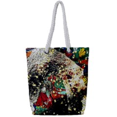 Wet Kiss 2 Full Print Rope Handle Tote (small) by bestdesignintheworld