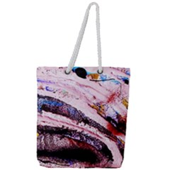 Egg In The Duck   Needle In The Egg 3 Full Print Rope Handle Tote (large) by bestdesignintheworld
