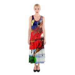 Catalina Island Not So Far 1 Sleeveless Maxi Dress by bestdesignintheworld