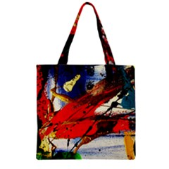 Catalina Island Not So Far 1 Zipper Grocery Tote Bag by bestdesignintheworld