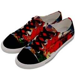 Catalina Island Not So Far 1 Men s Low Top Canvas Sneakers by bestdesignintheworld