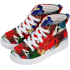 Catalina Island Not So Far 1 Kid s Hi Top Skate Sneakers by bestdesignintheworld