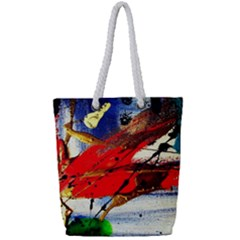 Catalina Island Not So Far 1 Full Print Rope Handle Tote (small) by bestdesignintheworld