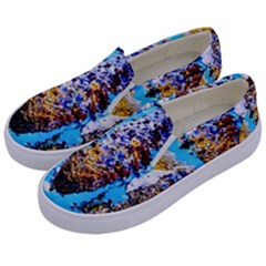 New   Well Forgotten Old 13 Kids  Canvas Slip Ons by bestdesignintheworld