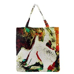 Skull 2 Grocery Tote Bag by bestdesignintheworld