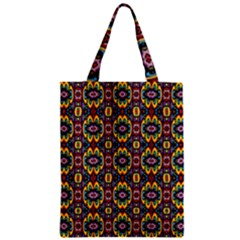 Artwork By Patrick-squares-5 Zipper Classic Tote Bag