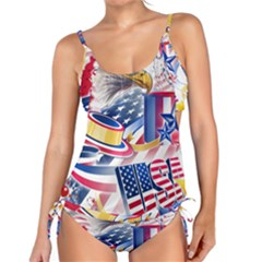 United States Of America Usa  Images Independence Day Tankini Set