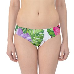 Vector Pattern Tropical Hipster Bikini Bottoms by Sapixe